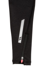 Sports tights - Black -  | H&M CN 3