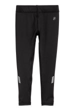 Sports tights - Black -  | H&M CN 2