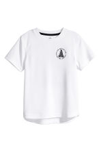 T-shirt training - Blanc - ENFANT | H&M FR 2