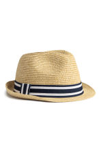 Straw hat - Natural - Kids | H&M 2
