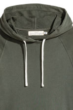 Hooded top - Dark green - Men | H&M 2