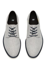 Derby shoes - Light grey-beige - Men | H&M CA 2
