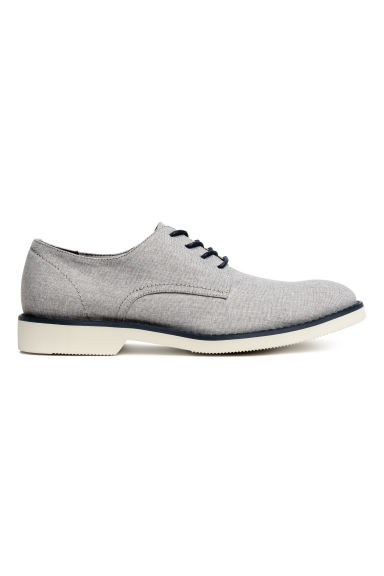 Derby shoes - Light grey-beige - Men | H&M
