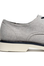 Derby shoes - Light grey-beige - Men | H&M CA 4
