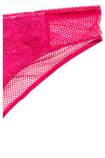 Lace Brazilian briefs - Raspberry pink - Ladies | H&M 2