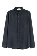 Camicia in lyocell - Nero - UOMO | H&M IT 1