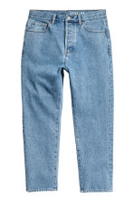 Cropped Tapered Jeans - Bleu denim - HOMME | H&M FR 2