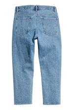 Cropped Tapered Jeans - Denim blue - Men | H&M 3