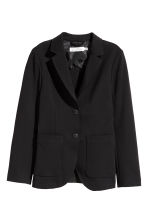 Cotton twill jacket - Black - Ladies | H&M CA 2