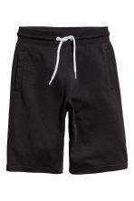 Sweatshirt shorts - Black - Kids | H&M 2