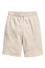 Short en molleton - Beige clair -  | H&M FR 2