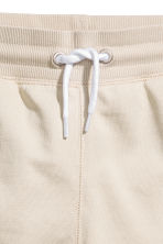 Short en molleton - Beige clair -  | H&M FR 3