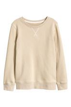 Sweatshirt - Light beige -  | H&M 2