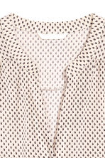 Sleeveless top - Light beige/Pattern - Ladies | H&M 3