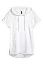 Hooded T-shirt - White - Men | H&M 2
