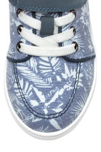 Canvas trainers - Blue/Patterned - Kids | H&M 4