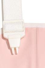 Rain trousers with braces - Dusky pink -  | H&M 3