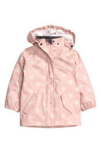 Patterned rain jacket - Dusky pink/Spotted - Kids | H&M CN 2