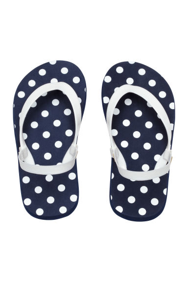 Infradito - Blu scuro/pois - BAMBINO | H&M IT 1