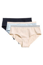 MAMA 3-pack hipster briefs - Light blue marl - Ladies | H&M 2