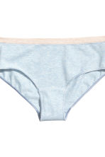 MAMA 3-pack hipster briefs - Light blue marl - Ladies | H&M 3
