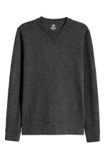Jersey sweatshirt - Anthracite/Grey marl - Men | H&M 2