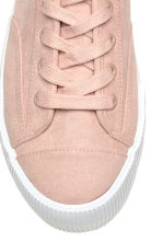 Platform trainers - Old rose - Ladies | H&M 4
