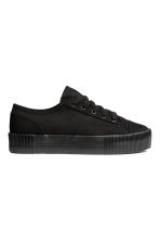 Platform trainers - Black - Ladies | H&M CA 2