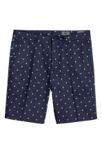 Patterned city shorts - Dark blue - Men | H&M CN 2