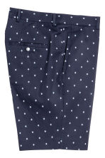 Patterned city shorts - Dark blue - Men | H&M CN 3