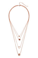 Multistrand necklace - Rose gold - Ladies | H&M 1