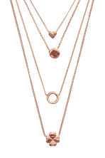 Multistrand necklace - Rose gold - Ladies | H&M 2