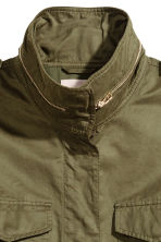 H&M+ Cargo jacket - Khaki green - Ladies | H&M 3
