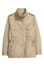 H&M+ Cargo jacket - Light beige - Ladies | H&M CN 2