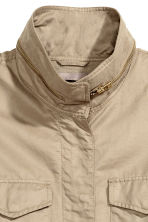 H&M+ Cargo jacket - Light beige - Ladies | H&M 3