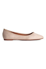 Ballerines - Taupe clair - FEMME | H&M FR 1