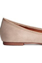Ballerines - Taupe clair - FEMME | H&M FR 4