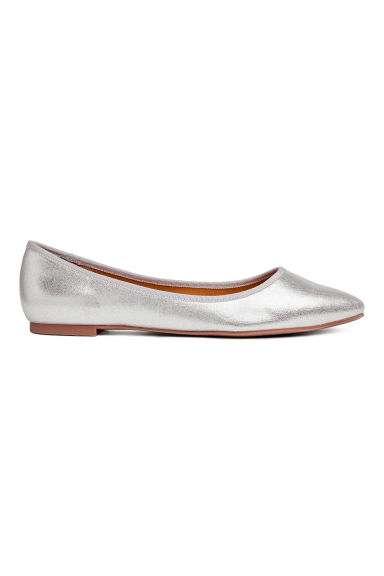 Ballet pumps - Silver - Ladies | H&M IE 1
