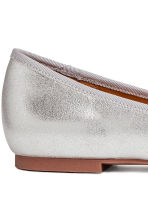 Ballet pumps - Silver - Ladies | H&M IE 4
