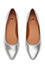 Ballet pumps - Silver - Ladies | H&M IE 2
