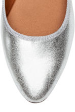 Ballet pumps - Silver - Ladies | H&M 3