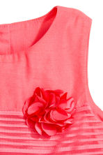 Sleeveless dress - Coral pink - Kids | H&M 2