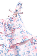 Patterned romper suit - Light pink -  | H&M CA 2