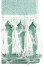 Jacquard-weave bath towel - Dusky green - Home All | H&M CN 3