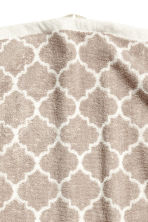 Serviette tissée jacquard - Taupe - Home All | H&M FR 2
