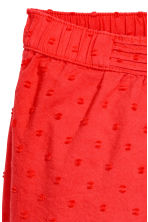 Pull-on trousers - Coral red -  | H&M 2