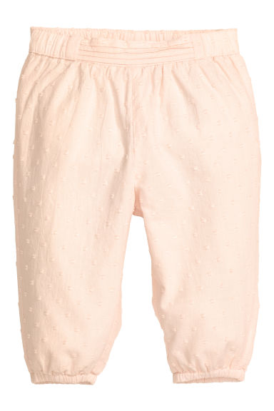 Pull-on trousers - Powder pink - Kids | H&M 1