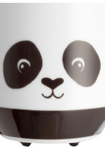 Pot de fleur à motif animal - Blanc/panda - Home All | H&M FR 2