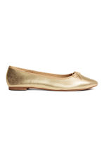 Ballet pumps - Gold - Ladies | H&M CN 1