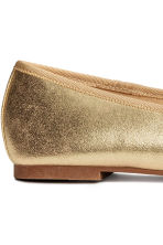 Ballet pumps - Gold - Ladies | H&M CN 4